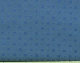 Dark Blue Square Dots 100% Cotton Quilt Fabric Blender for Sale, Pearl Essence Collection by Maywood Studios MAS111-B