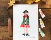Amelie Poster Print A4