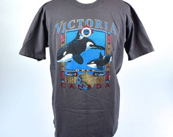 Orca T-shirt from Victoria, British Columbia CANADA