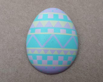 Colorful Easter Egg by 1987 Hallmark Cards, Inc.