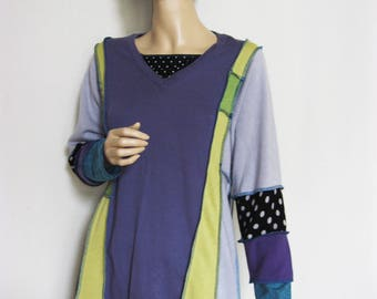 L to XL  Soft Colored Tunic