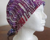 Tie-back Front Fold Surgical Scrub Hat