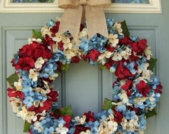 Fourth of July Wreath - July 4 Wreath