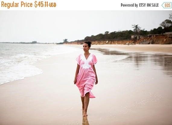 20% OFF Winter Sale// Pink Marrakech Resort Caftan Kaftan - for Mothers day gifts, resortwear,loungewear, maxi dresses, birthdays, honeymoon