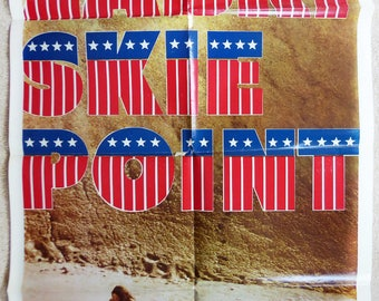 1970 Zabriskie Point One Sheet Movie Poster
