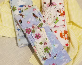Infant Receiving Blanket Set - Princesses and Fairy Tales