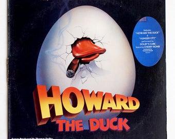 VERY RARE Howard the Duck Vinyl Soundtrack - Good Condition