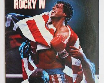 "Rare ""Rocky IV"" Vinyl Soundtrack (1985) - Very Good Condition"
