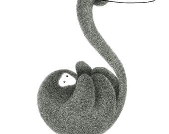 The Furry Thing Series – Monkey – See things from a different perspective A3