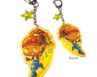 Lucio - Keychain Charm