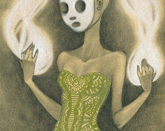 ART PRINT - Soul collectress - Worldwide Shipping