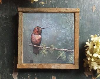 HUMMINGBIRD ART, Framed Humming Bird Print, Hummingbird Art Prints, Bird Art, Hummingbird Wall Decor, Home Decor, Framed Wall Prints