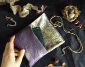 Logwood & Maple Plant Dyed Tarot Bag