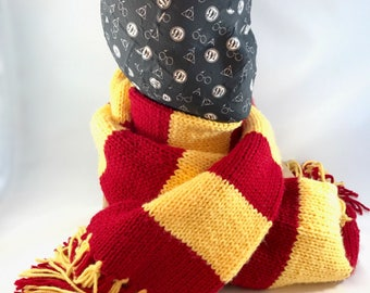 Harry Potter Platform 9 3/4 Hat Display - also great for headbands, pins, and scarves! Styrofoam mannequin head