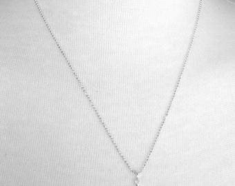 Anchor Necklace, Anchor Jewelry, Anchor Pendant, Small Anchor Charm Necklace, Sterling Silver Jewelry, Sterling Silver Anchor Necklace,