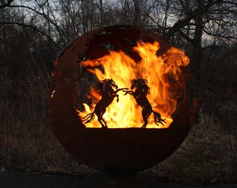 Wildfire Fire Pit Sphere
