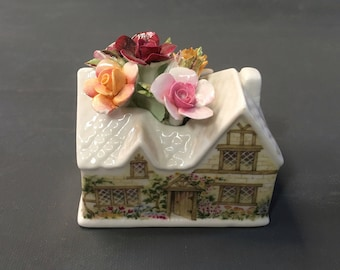 Royal Albert Old Country Roses Floral Cottage Figurine