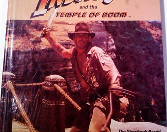 Indiana Jones and the Temple of Doom Storybook