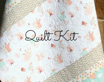 Baby quilt kit | Etsy : baby quilting kits - Adamdwight.com