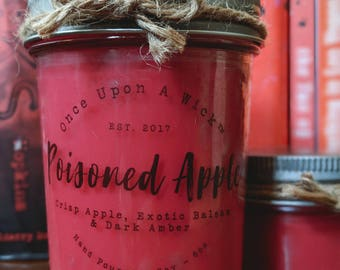 Poisoned Apple | Snow White Inspired Bookish Soy Candle