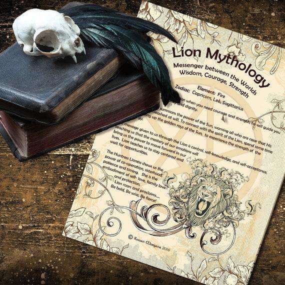 Lion Mythology