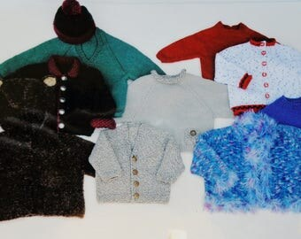 Knitting Pattern | BOTTOM UP RAGLAN | Ann Norling | Joan Williams | Sweater | Handknitting | Hand Knit | Knit Sweater | Kids