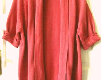 Talbots Woman Cotton Cardigan Sweater, 2X