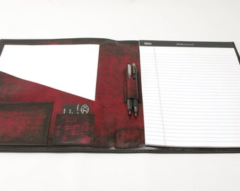 Large Leather Notebook