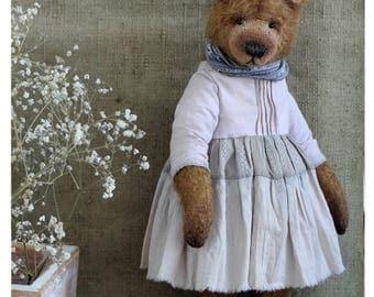 Artist Teddy bear Lilia 23 cm