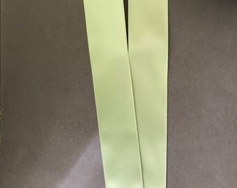 "2yds 1 1/2"" Spring Moss Double Faced Satin Ribbon"