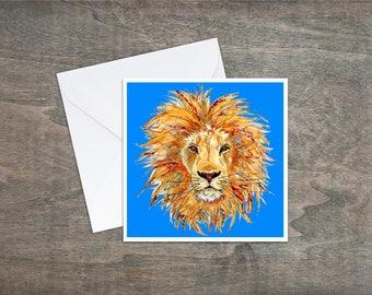 Lion - Art Card