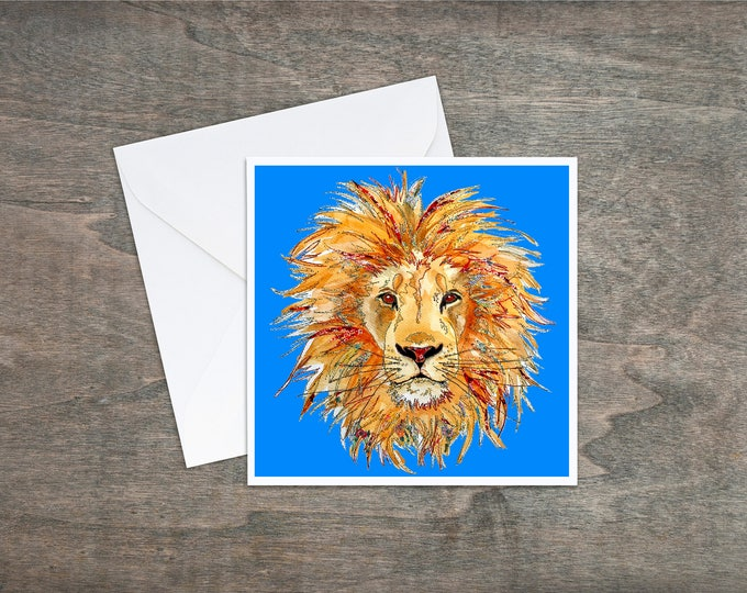 Lion - Art Card