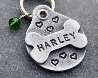 Personalized Pet Tag Pet ID Tag Dog ID Tag Custom Pet Tag Dog Name Tag Dog Tag for Dog Stocking Stuffer Christmas Gift Dog