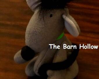 """Stuffed Rat Barn Hunt """"Q"""""""