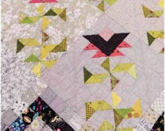 Paradise in Bloom Quilt Pattern by Lucy Carson Kingwell for Jen Kingwell Designs