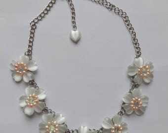 Vintage Butler & Wilson Cats Eye Effect and Pearl Necklace