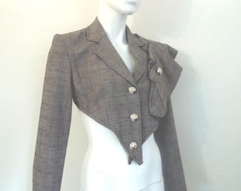 BURBO Art Deco inspired Customised jacket