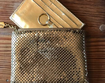 Vintage Whiting & Davis mesh wallet, coinpurse, pocket book