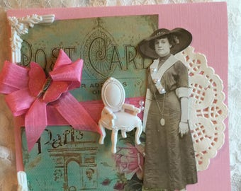 Edwardian Graciousness~~~~ All Occasion Card~~~