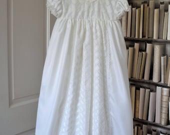 Baptism Dress, Christening Gown, Vintage Baptism Dress, Baptism Gown, Vintage Baptism Gown, Vintage Christening Gown