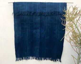 Mossi Cloth African Fabric   Vintage Textile Indigo Mudcloth African Indigo Cloth African Fabric Indigo fabric Indigo Throw Beach Blanket 15