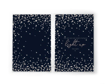 Lost Stars Planner Cover | Disc-bound or Spiral
