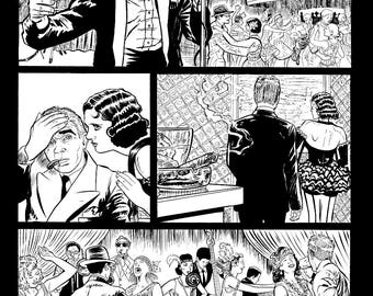 Original Art Page, 30 from The Tommy Gun Dolls Vol. 1 SIGNED