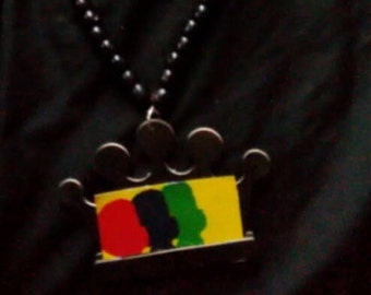 Long  African necklace