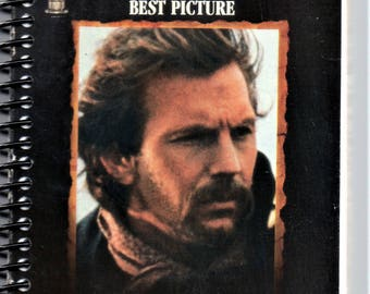 Dances With Wolves, Kevin Costner VHS Recycled Notebook, Journal,
