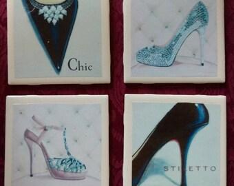 Fabulous Footwear Coasters
