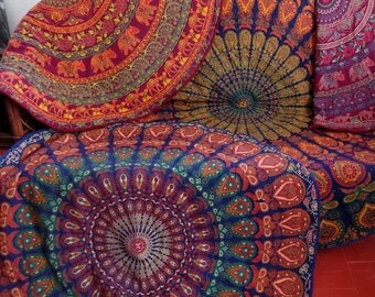mandala teppich etsy. Black Bedroom Furniture Sets. Home Design Ideas