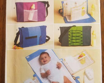 Butterick 5833: Diaper Bag and Changing Pad