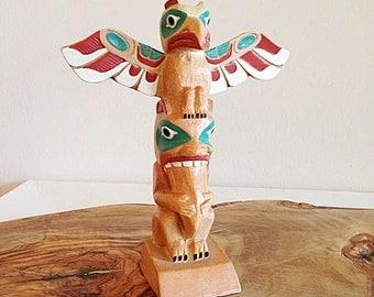 Vintage Souvenir Totem Pole