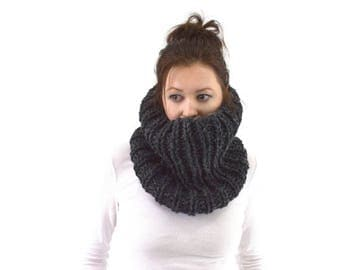 SALE Knit Chunky Cowl Scarf Neck Warmer | The London